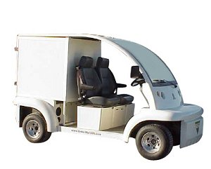 CitEcar Electro Bubble Buddy LSV 2 Passenger Delivery