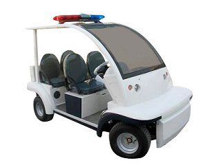 CitEcar Electro Bubble Buddy LSV 4 Passenger Security
