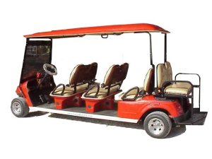 CitEcar Electro Neighborhood Buddy 8 Passenger Street Legal Golf Cart